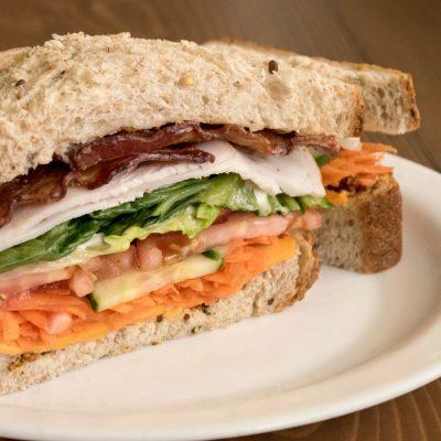 The Penny Turkey Bacon Sandwich